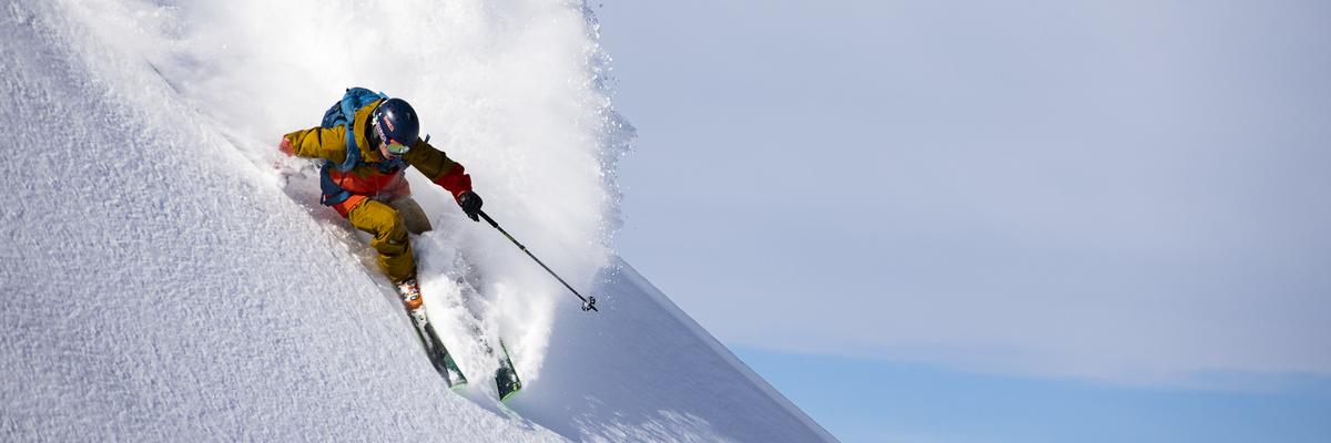 Skiexpert Freeride lyže a vybavení