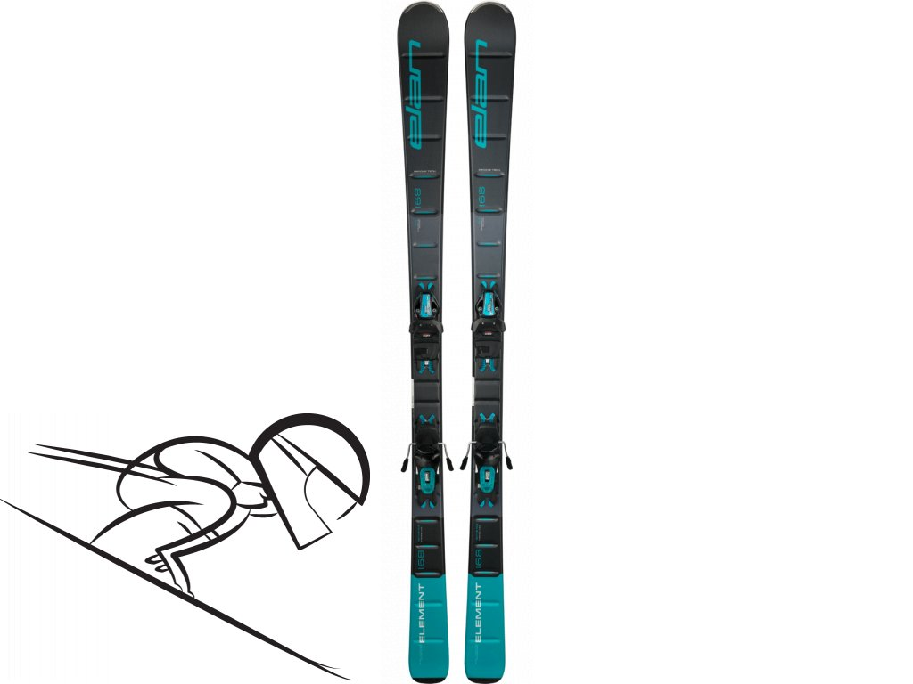 elan element black blue light shift skiexpert