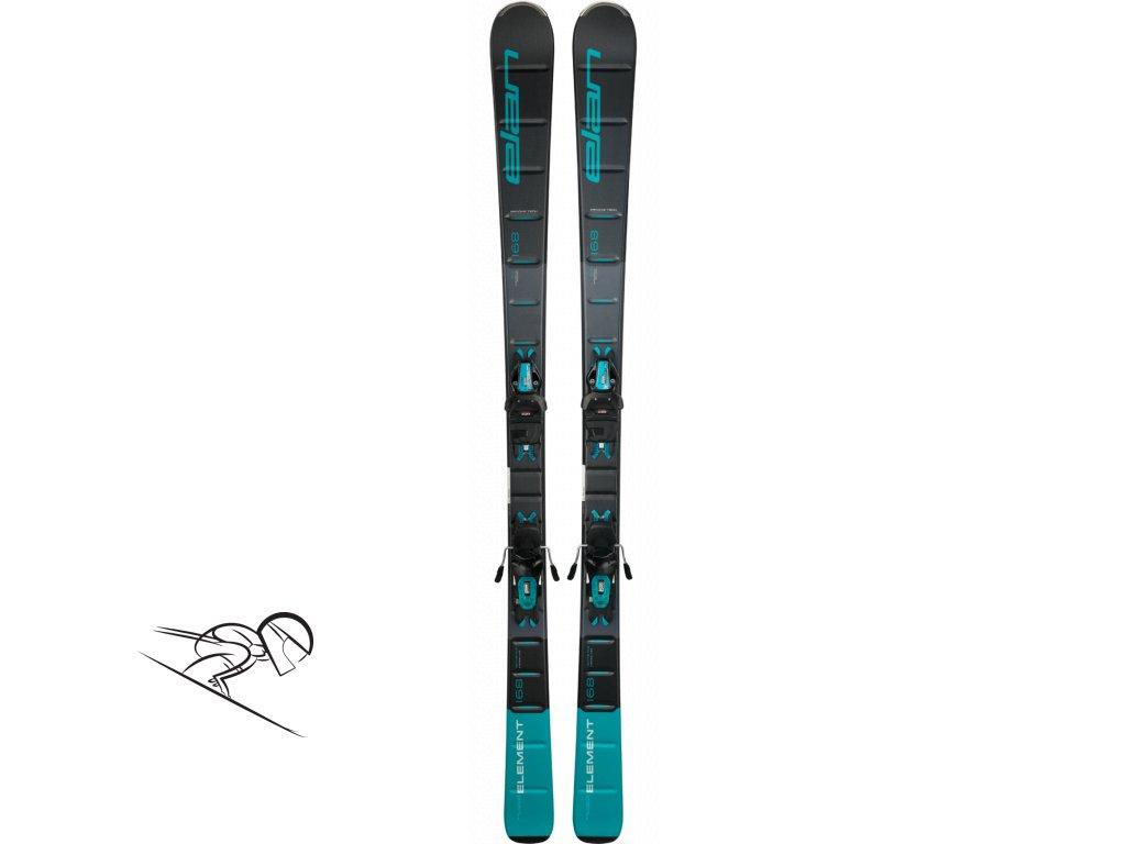 elan element black blue light shift skiexpert
