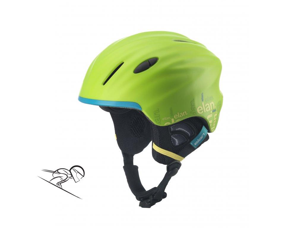 Team Green Helmet