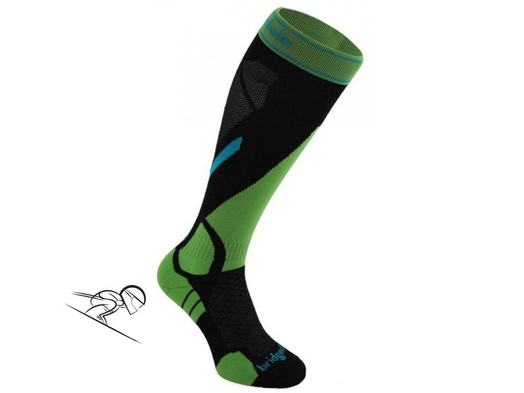 BD Vertige light black green skiexpert
