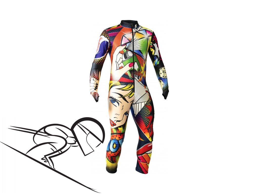 ENERGIAPURA POP ART THERMOSPEED JR lyzarska kombineza s chranici junior skiexpert cz