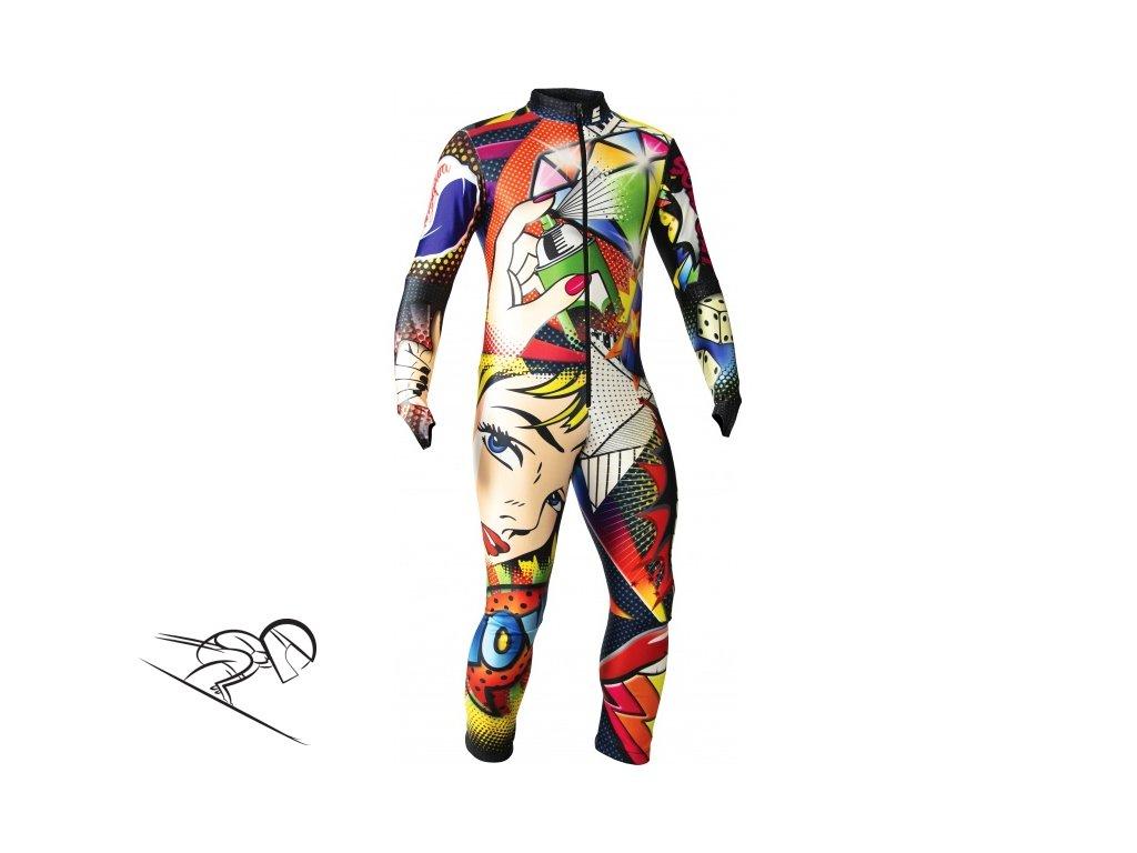 ENERGIAPURA POP ART THERMOSPEED JR lyzarska kombineza s chranici junior skiexpert cz