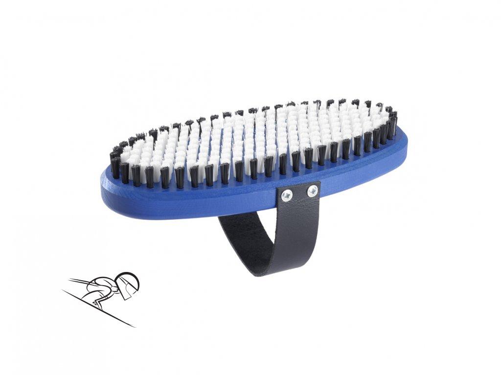 6194 holmenkol oval brush nylon