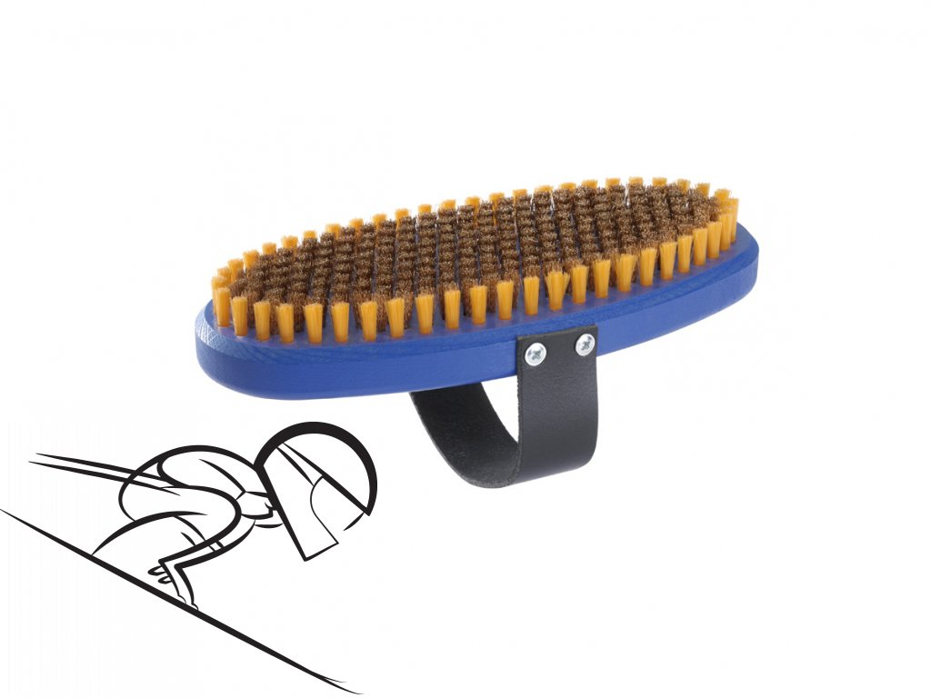 6203 holmenkol oval brush bronze