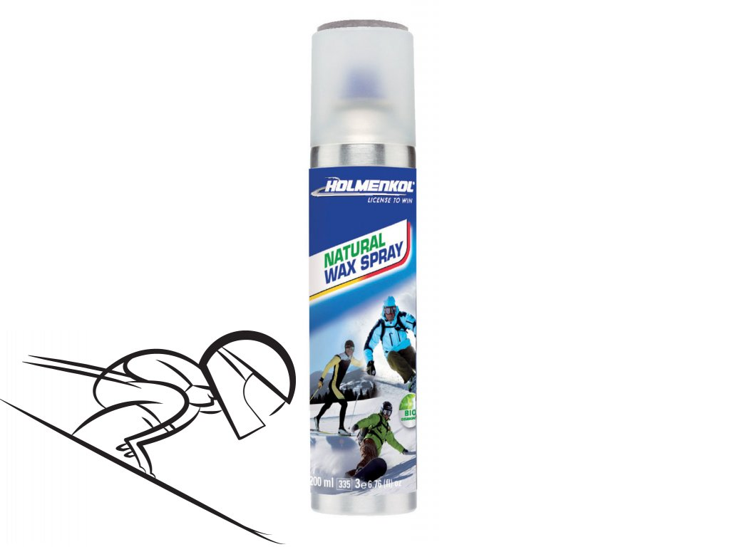 6251 holmenkol natural skiwax spray 200ml