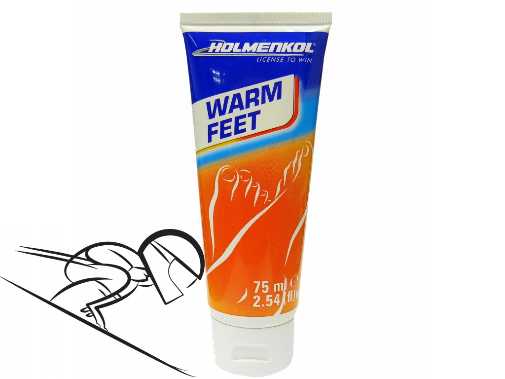 6341 holmenkol warm feet vel 75ml