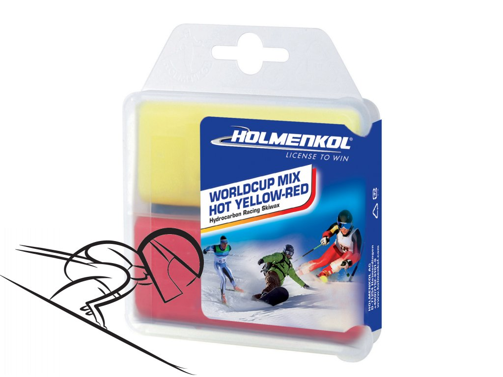 6365 holmenkol wc mix hot red yellow 2x35g