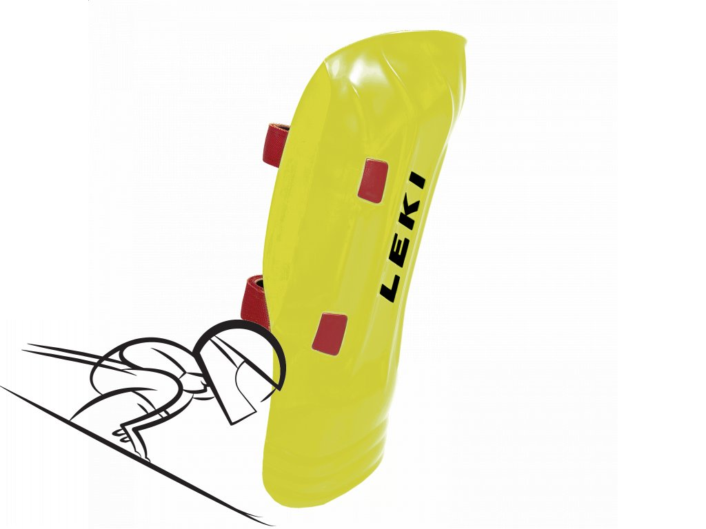 LEKI wc shin guard yellow 365100012 se