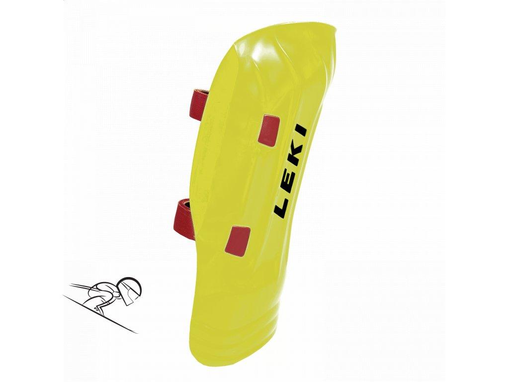 LEKI wc shin guard yellow 365100012 se