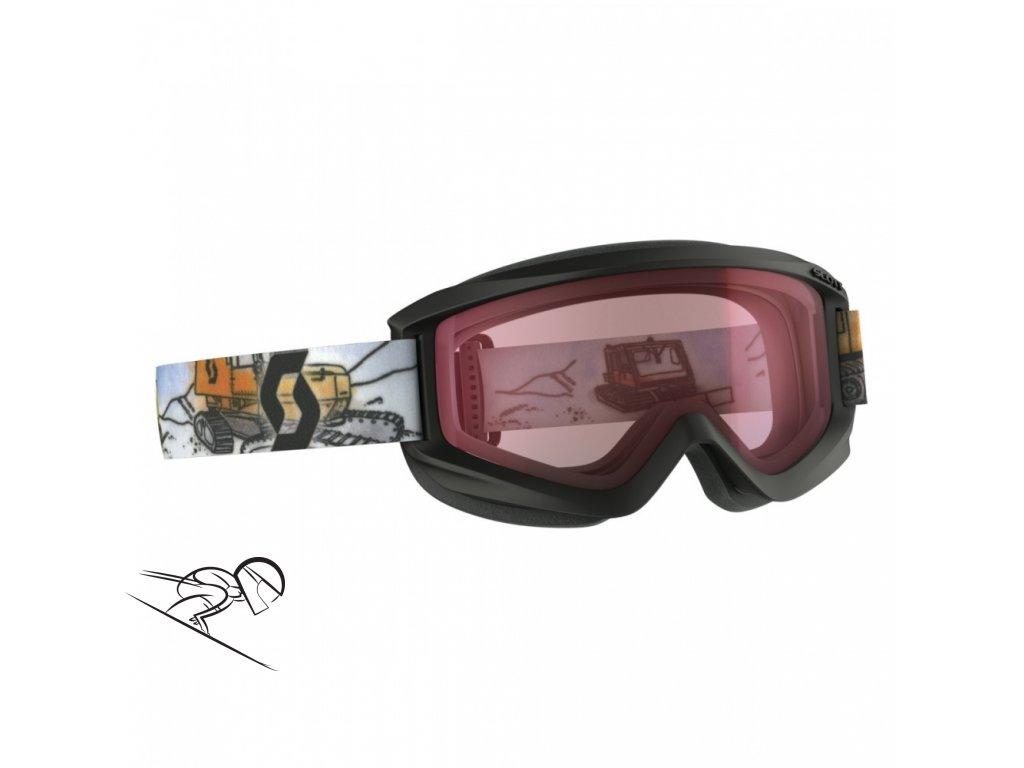 Scott Jr Agent black amp 2399970001004 skiexpert