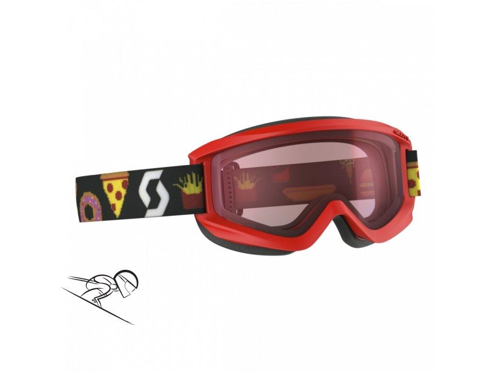 Scott Jr Agent red 2399970004004 skiexpert