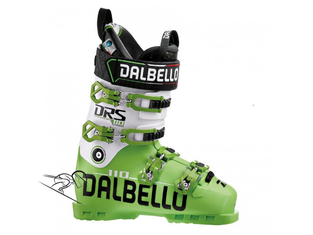 DALBELLO DRS 110 Uni, Lime/White