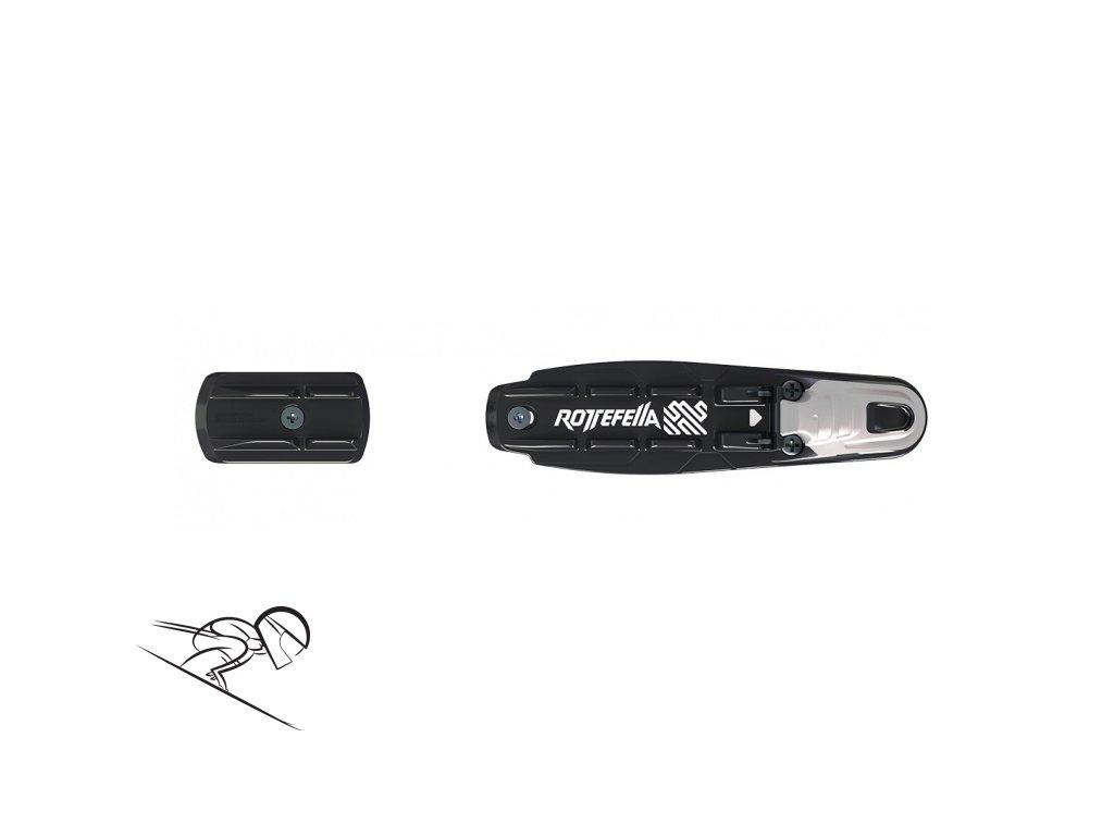 Rottefella basic blk III 10200150 skiexpert