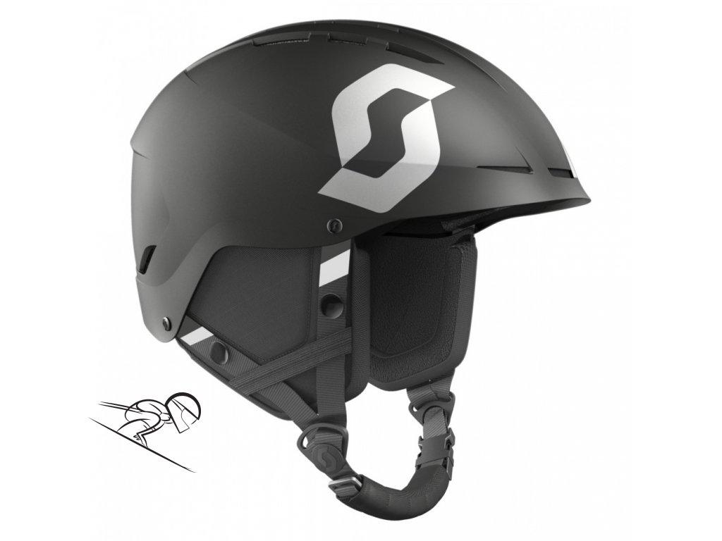 Scott Apic Plus Jr black matt 2462460135 skiexpert