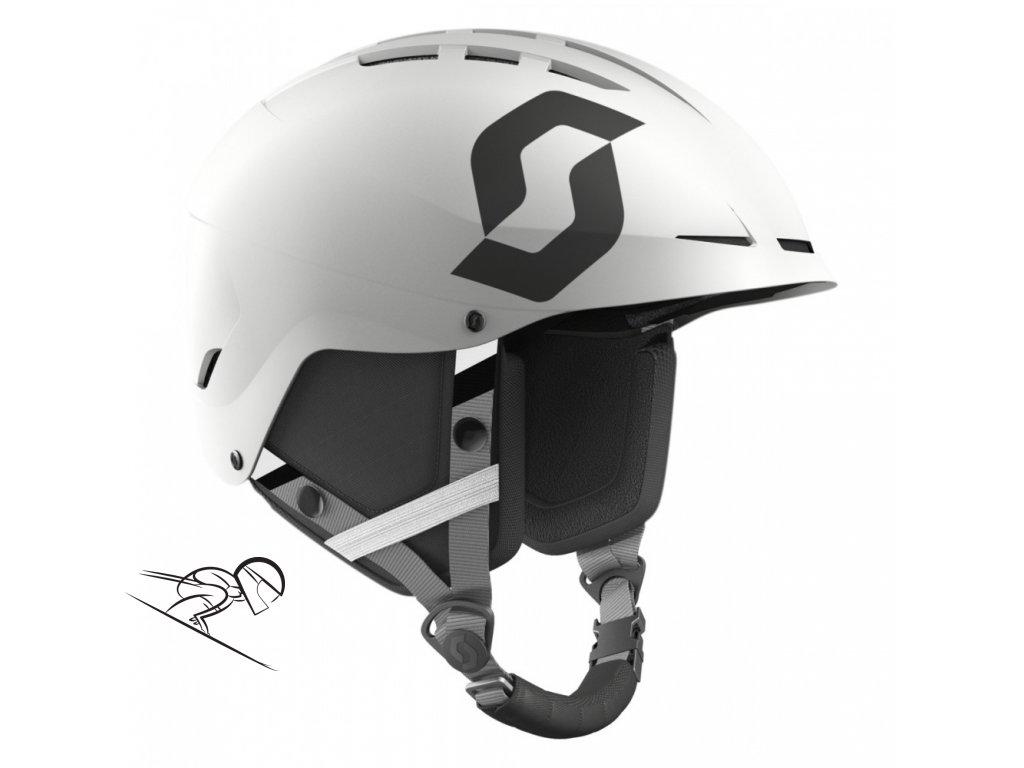 Scott apic plus jr white 2462460196 skiexpert