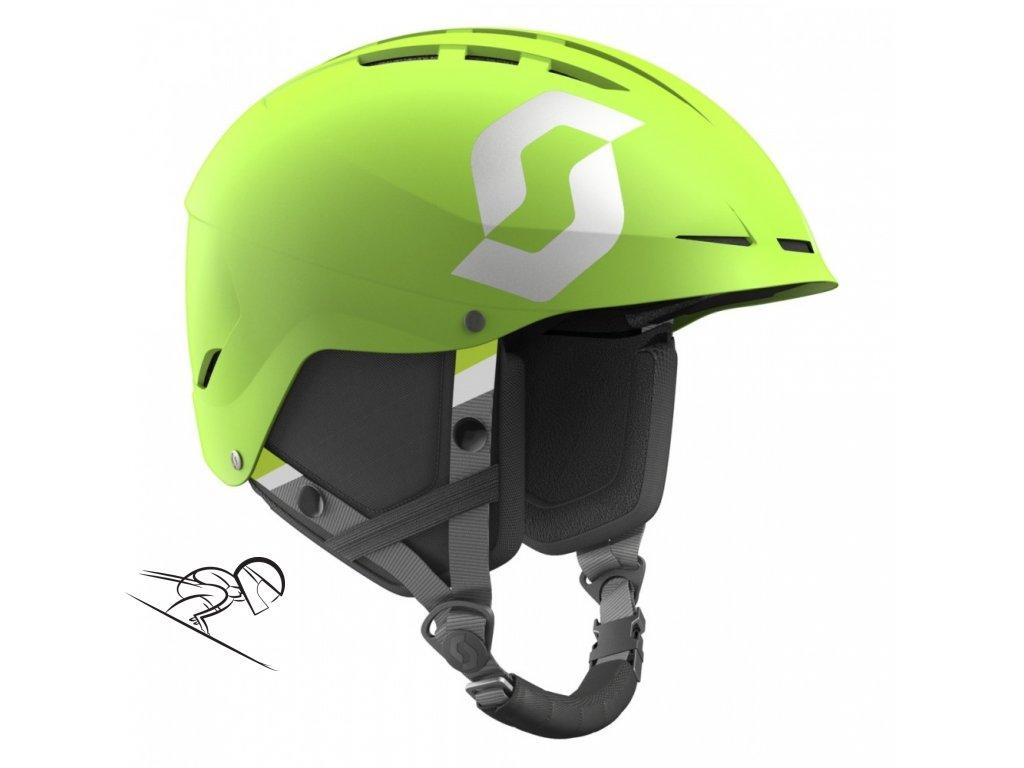 Scott Apic Plus Jr macew green matt 2462465248 skiexpert
