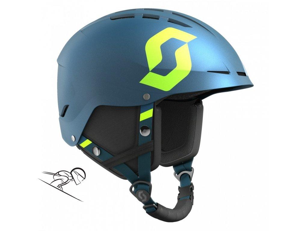Scott Apic Plus jr pacific bl 2462465604 skiexpert