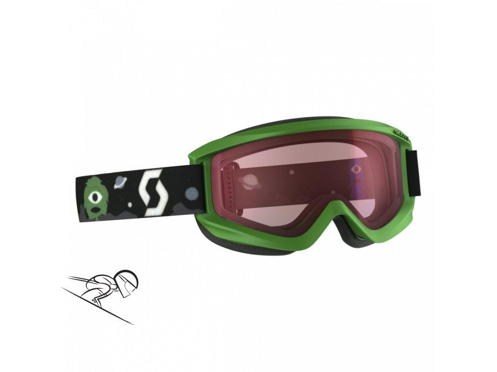 Scott Jr Agent green amp 2399970006004 skiexpert