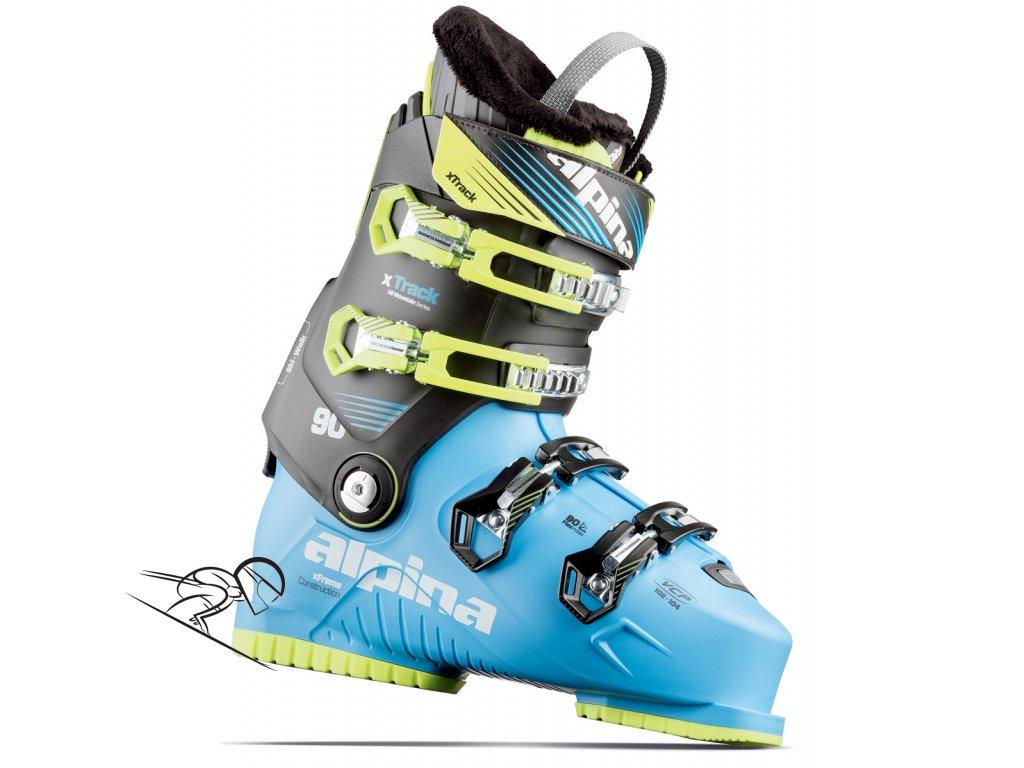 alpina 3a993 xtrack90 skiexpert