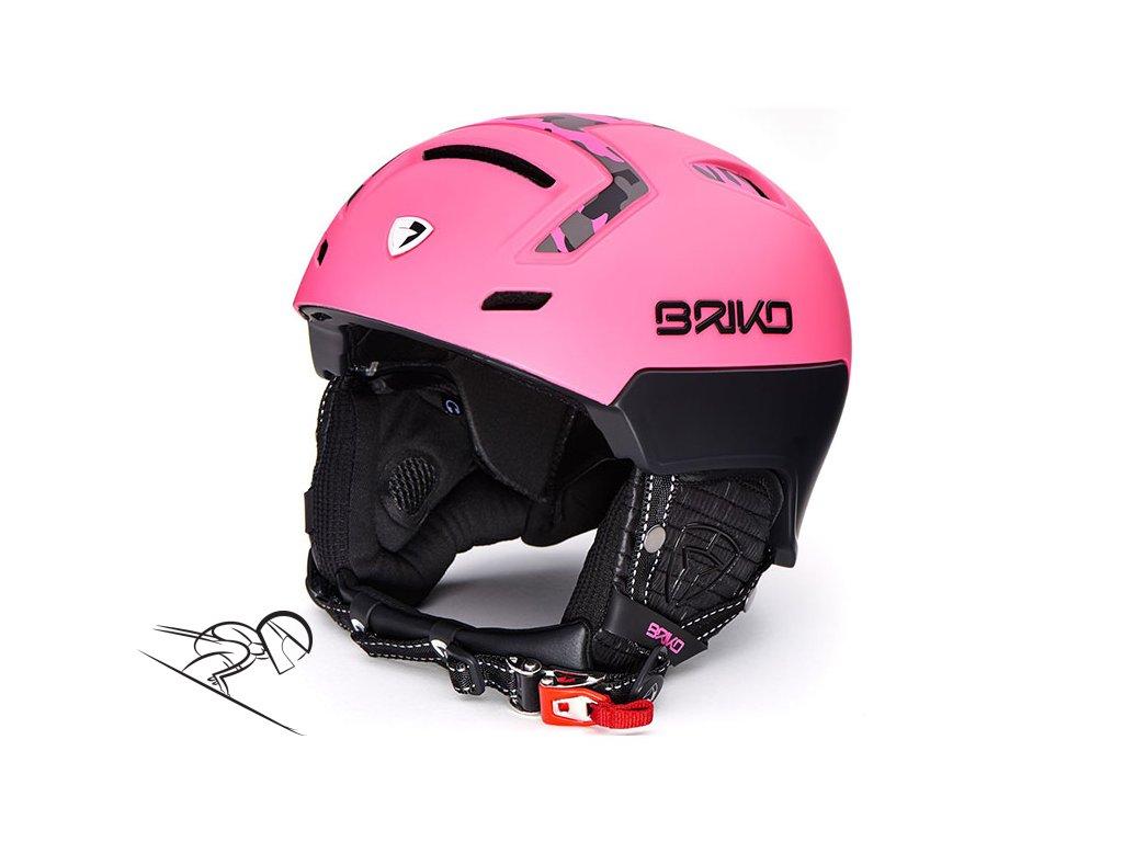 Briko stromboli matt pink camo 20000h0 a67 skiexpert II