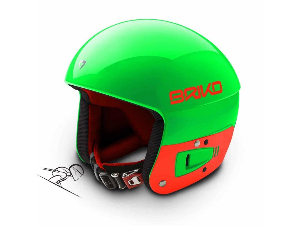 Briko vulcano fis green f orange2000020 A57 56 skiexpert