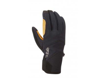 rab velocity glove black qag 17 se