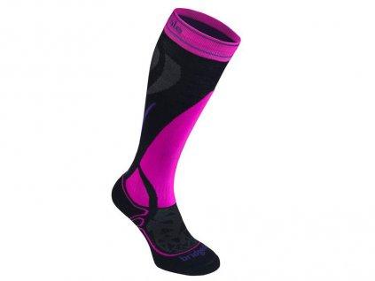 BD Vertige Mid W black fluoro pink skiexpert