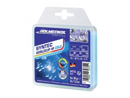 HOLMENKOL Syntec WorldCup HF COLD 2x35g