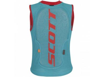 Scott Actifit vest prot jr blue hibiscus 255817 5916006 Skiexpert