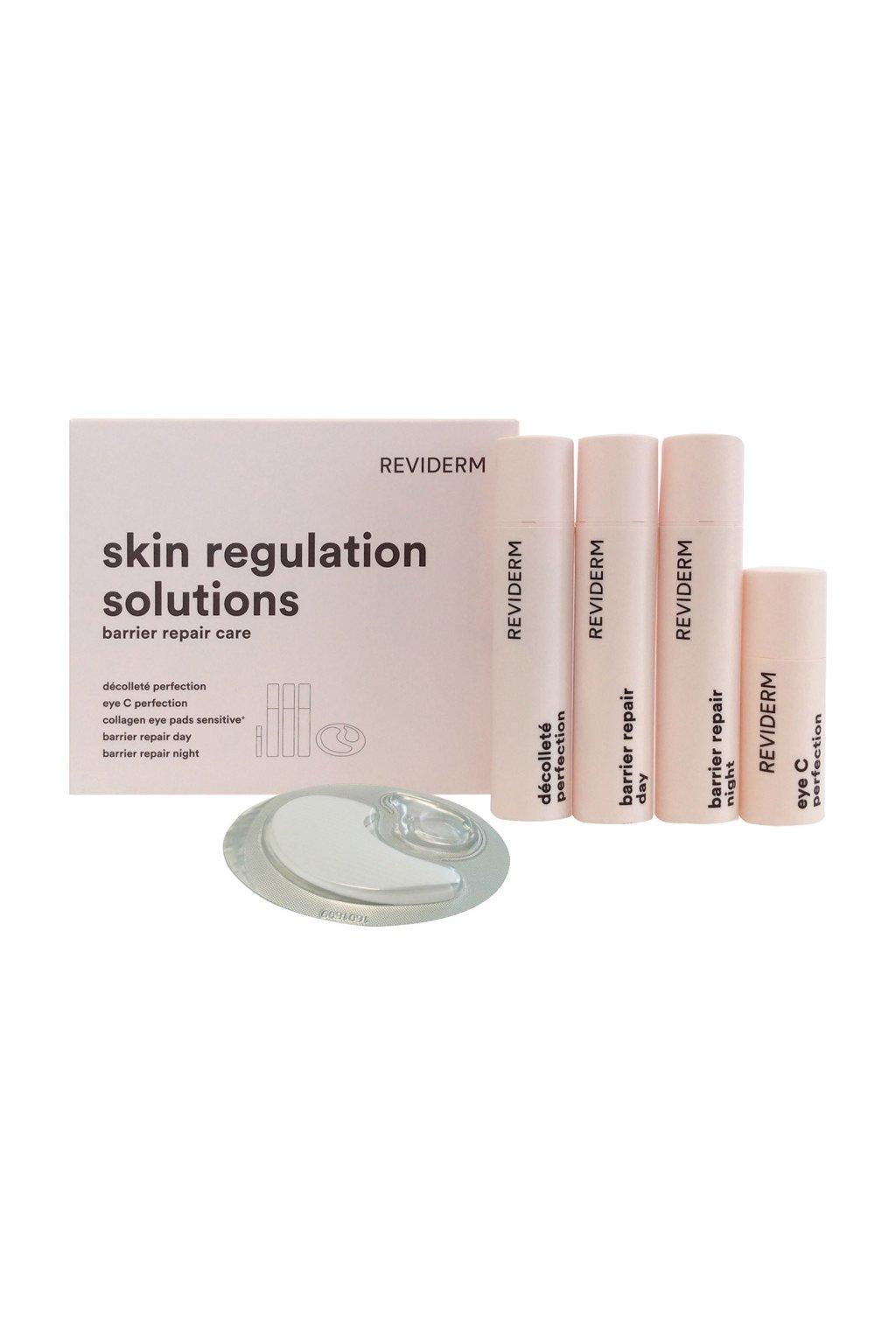 skin regulation solutions - barrier repair skincare | 1 set
