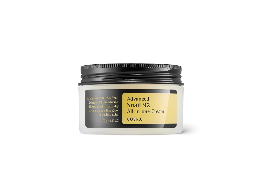 COSRX Advanced Snail 92 All in one cream 100ml  Lehký krém se šnečím extraktem 92%