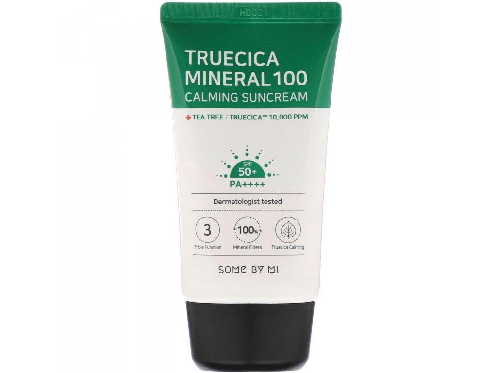 SOME BY MI Truecica Mineral 100 Calming Suncream 1