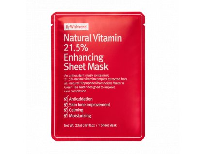 By Wishtrend 21.5% enhancing Sheet mask