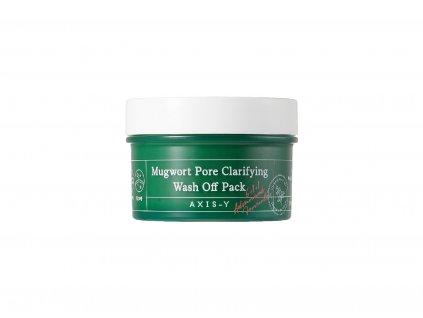 AXIS Y Mugwort Pore Clarifying Wash Off Pack SkinGeeks.cz