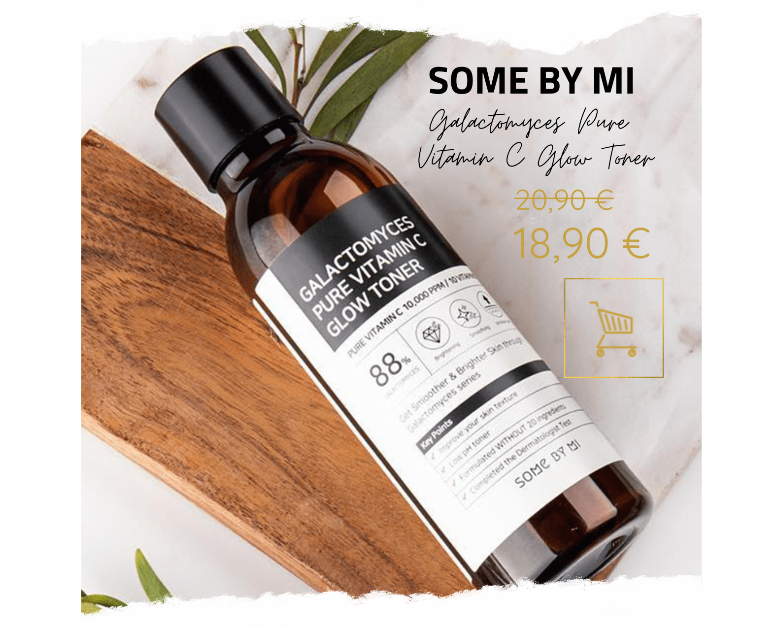 SOMEBYMI Galactomyces Pure Vitamin C Glow Toner