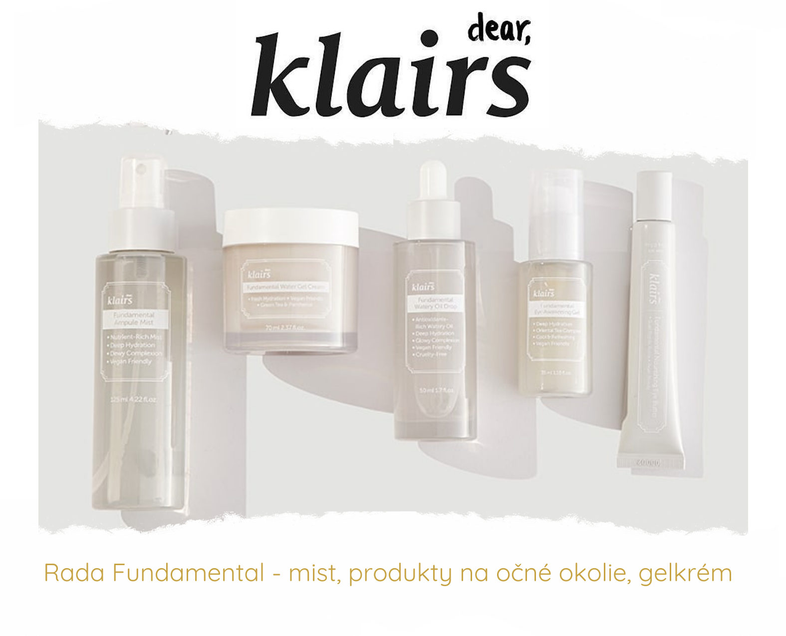 Dear, Klairs Fundamental