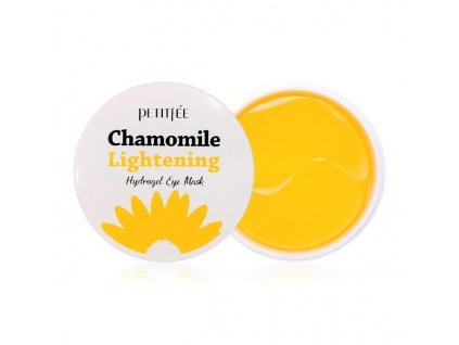 petitfee chamomile lightening hydrogel eye mask 60pcs 353