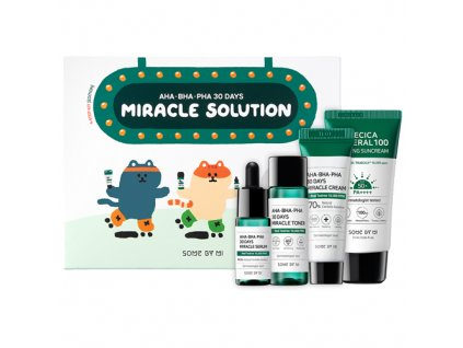 SOMEBYMI AHA BHA PHA 30 days Miracle Solution Step Kit