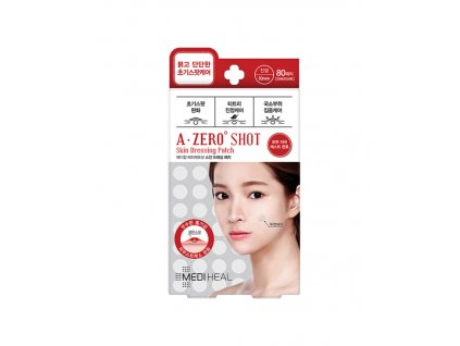 MEDIHEAL A-zero Shot Skin Dressing Spot Patch 80ks