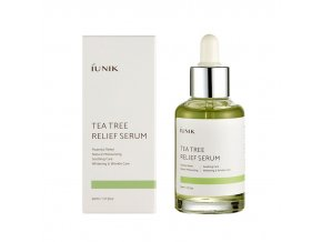 iUNIK Tea Tree Relief miniature Serum 15ml – sérum 50ml