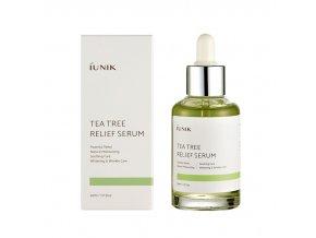 iUNIK Tea Tree Relief miniature Serum 15ml – sérum 50ml
