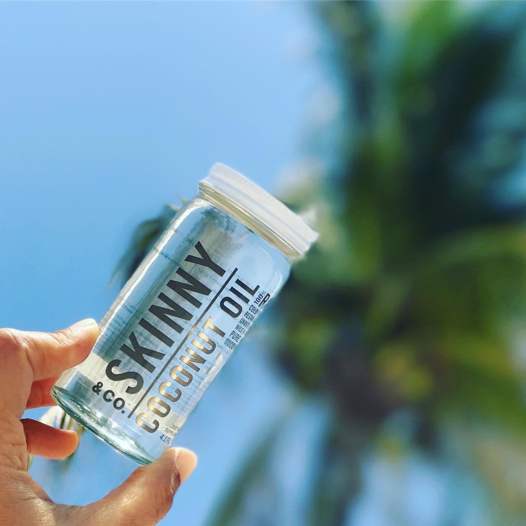 čistý kokosový olej