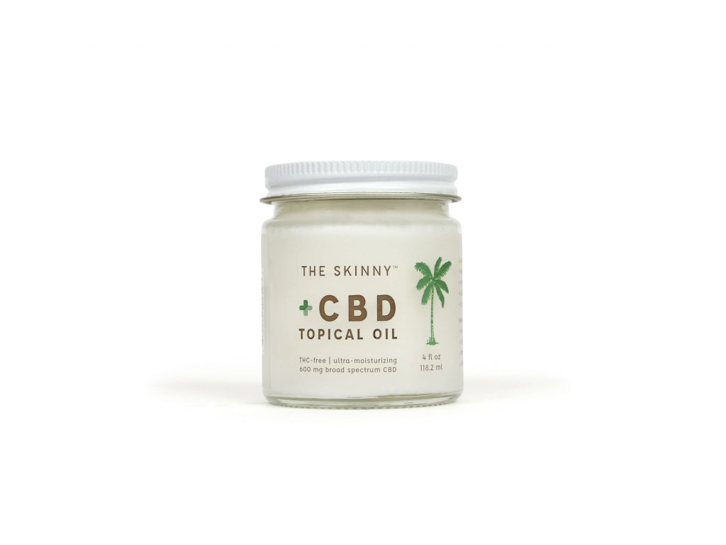CBD Topical Oil Front