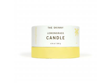 Candle Lemongrass Box Front