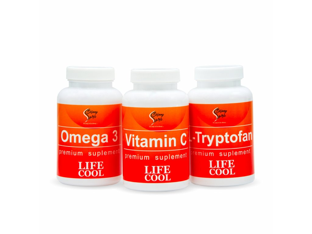 omega3 vitaminC L tryptofan