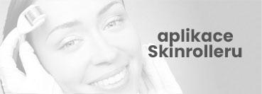 Aplikace Skinrolleru na pleť a na vlasy