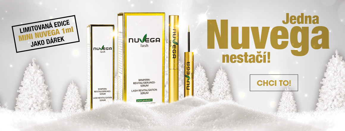 serum na řasy Nuvega lash + mini serum