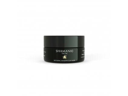 03 Shamanic Tiegel 50ml Detoxing Amazon Clay Mask