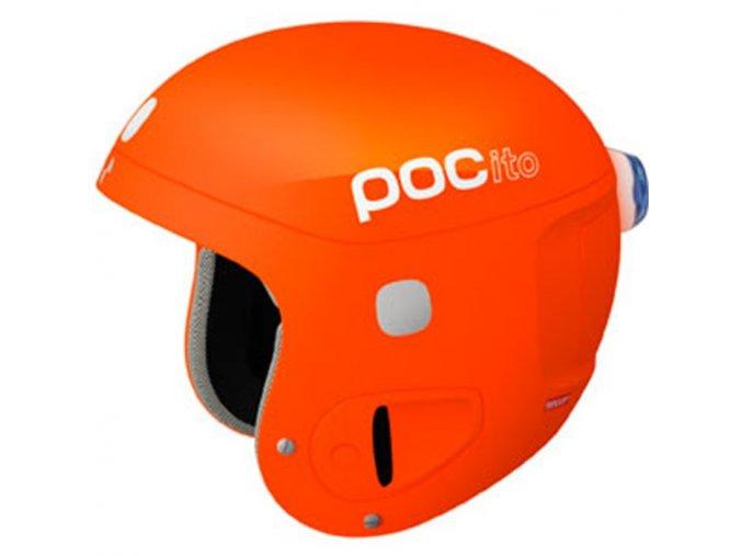 Poc pocito helmet fluorescent orange 15/16
